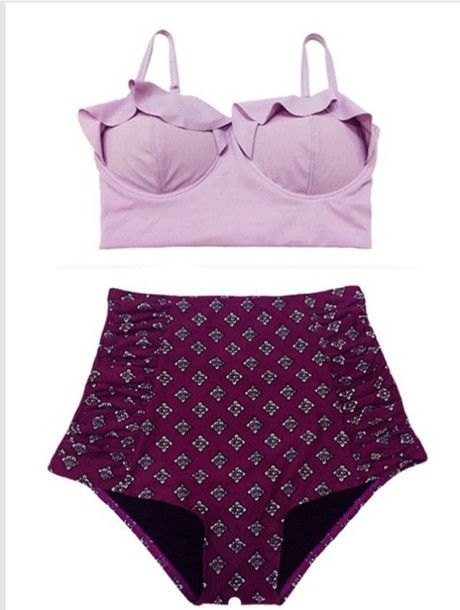 Lavender bikini