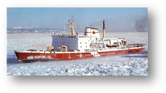 CCGS Pierre Radisson  Class: Medium Icebreaker. A sizable vessel capable of sustained icebreaking and escort operations in the Arctic for 2 seasons per year and in the Great Lakes, St. Lawrence Seaway and Atlantic coast in winter. Home port: Québec, Que.  Length: 98 m   Beam: 19.2 m Gross tonnage:  5755 t  Crew/officer capacity: 31  Cruising speed: 14kts  Builder: Burrard Dry Docks Ltd.  Launched: 1978 Status: In service