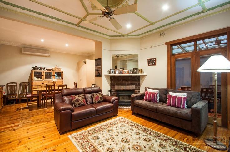 Parkholmes' living area