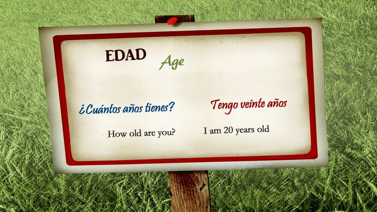 How to say your age in Spanish... ¿Cuántos años tienes? http://www.spanishlearninglab.com/basic-conversation-in-spanish/