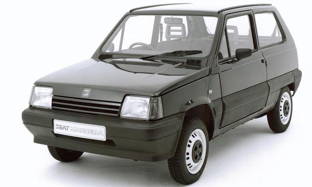 Seat Marbella, the Fiat Panda clone (1986)