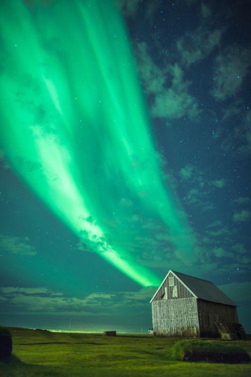 Aurora in Reykjavik - Iceland by   Adam Skrzeszewski   Tumblr   Facebook