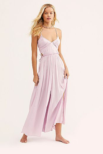 81f0a6ddd Need This Shiny Maxi Dress in 2019