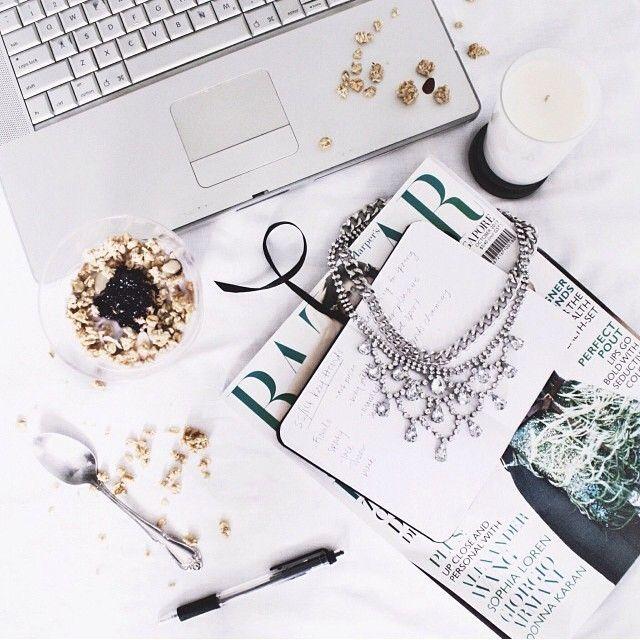 #magazines #necklace