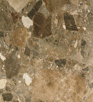 29. Breccia Paradiso 1kg by Xinamarie Mosaici Brown marble mosaic tiles with shiny crystalline formations