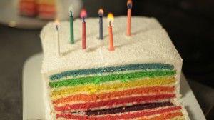 rainbow cake chocolat blanc  coco hervé cuisine