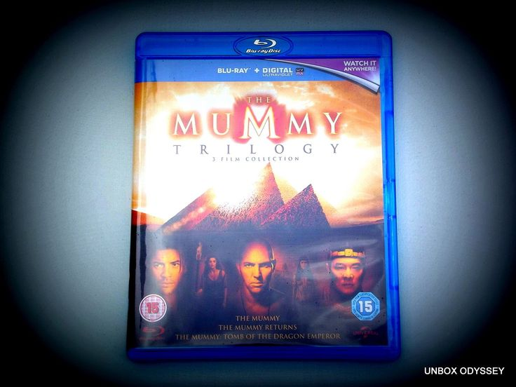 The Mummy Trilogy - Blu-ray unboxing