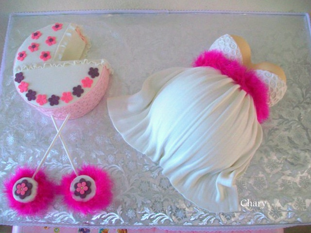 Belly Cake - Too Cute!: Cakes Ideas, Cakes Inspiration, Cakes Decor, Misc Cakes, Creative Cakes, Cakes Design, Cupcakes Cak, Baby Cakes, Belly Cakes