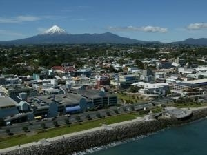 The city of New Plymouth