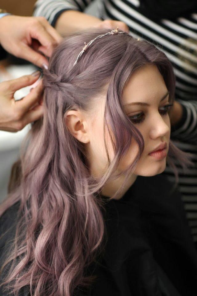 Best 25+ Lilac grey hair ideas on Pinterest | Purple grey hair ...