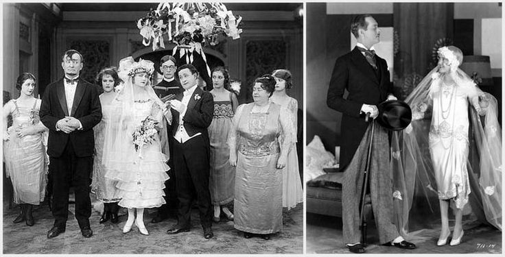 Abiti da sposa nel cinema, anni '20