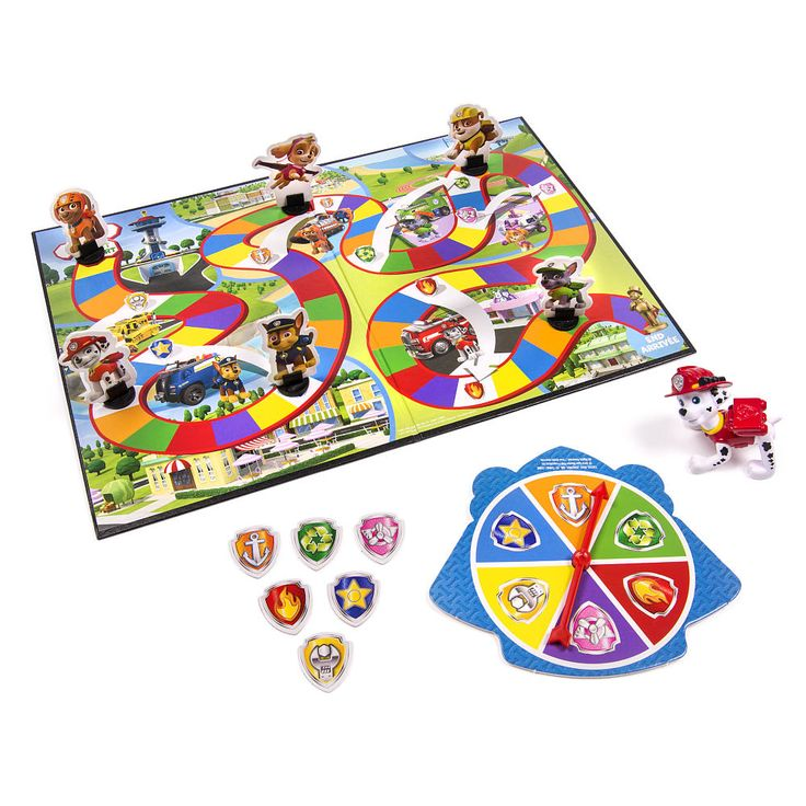 "Nickelodeon Paw Patrol Adventure Board Game with Bonus Marshall Figure - Spin Master - Toys ""R"" Us"