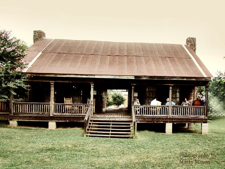 I would love to have an old dogtrot house by a lake or river to go hang out in during the summer.