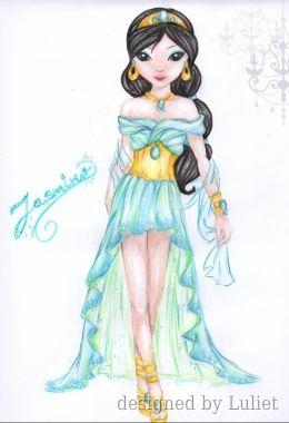 Jasmine-Disney Glamour