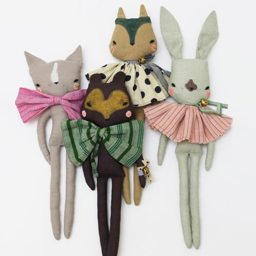 Image of PIPPIN SQUIRREL - Fabric Doll