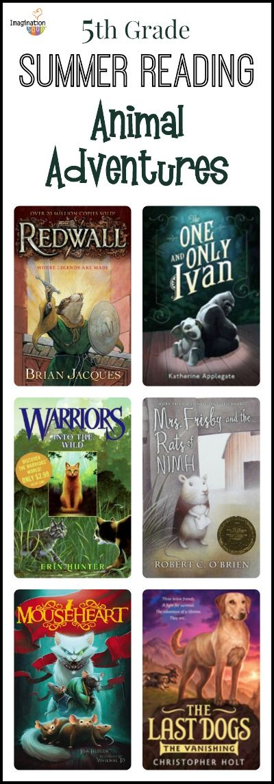 summer reading list: animal adventure stories for 5th grade readers