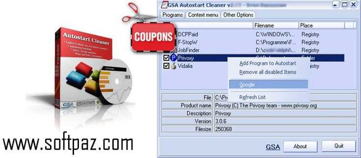 Hi fellow windows user! You can download GSA Autostart Cleaner for - filename for resume