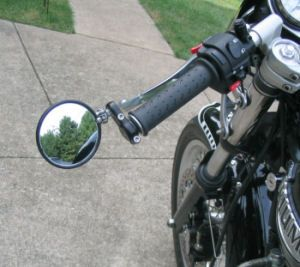 Bar End Mirrors For The New Triumph Bonneville Triumph