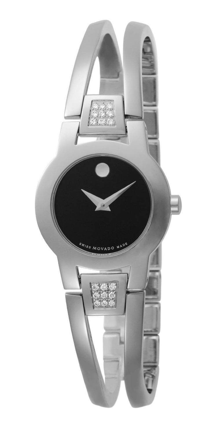 Best Luxury Watches Love #reviews #style #elegant Movado Women's 604982 Amorosa Diamond Accented Bangle Bracelet Watch Buy now with new offer price deals and discount: Movado Women, Women 604982, 604982 Amorosa, Bangles Bracelets, Diamonds Accent, Bangle Bracelets, Bracelets Watches, Amorosa Diamonds, Accent Bangles