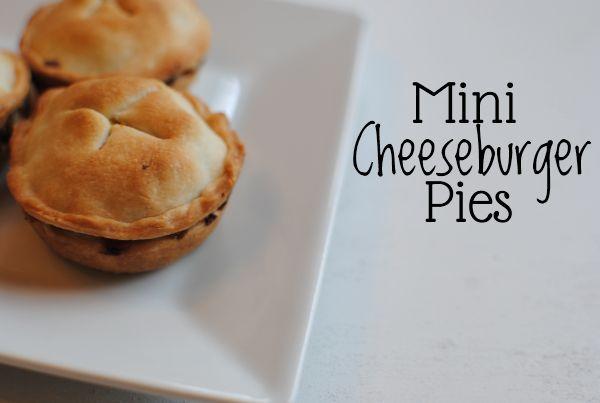 Mini Cheeseburger Pies