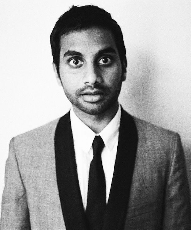 "Aziz Ansari - so fly.  This guy.  Psh.  #1 on my ""people I want to meet"" list."