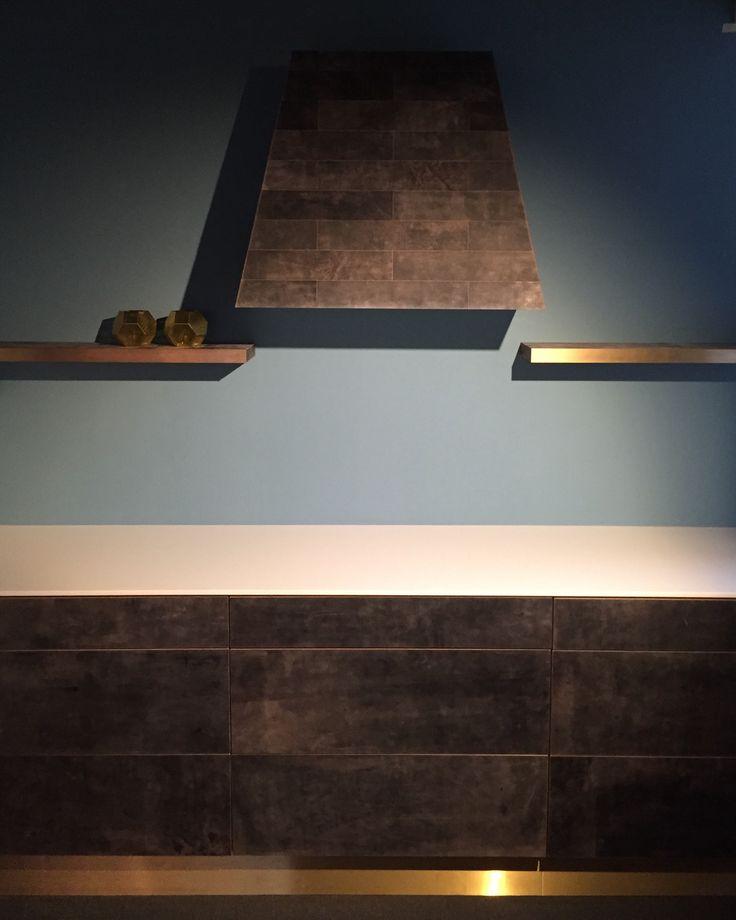 Leather kitchen   . Design Ulrik Wang