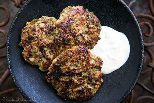 Spicy Turkey Zucchini Burger as adapted from the cookbook Jerusalem by Yotam Ottolenghi and Sami Tamimi