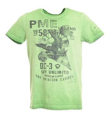 PME Legend - Pall Mall T-shirt Groen - NummerZestien.eu