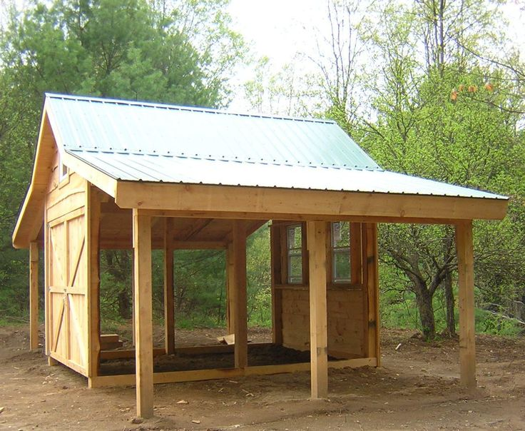 Our adirondack post beam barn is built using post beam for Open carports