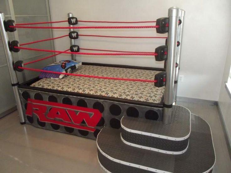 Elegant A Wrestling Ring Bed