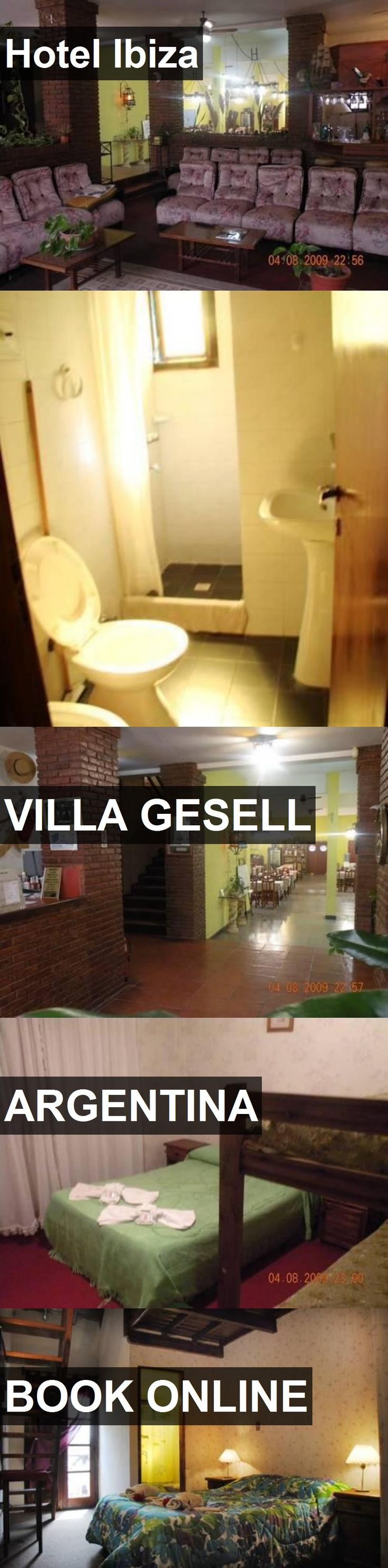 Hotel Hotel Ibiza in Villa Gesell, Argentina. For more information, photos, reviews and best prices please follow the link. #Argentina #VillaGesell #HotelIbiza #hotel #travel #vacation