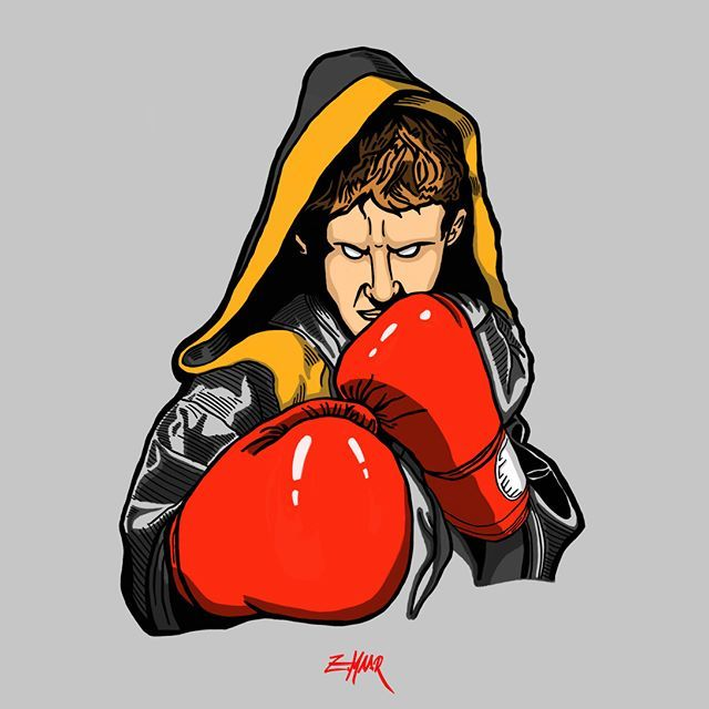 'a boy becomes a man'  pt.2 See more at www.zoltanmaar.com  done with ProCreate on my Ipad Pro.     #boxing #instababy #sketch #draw #ipadpro #instaart #painting #digitalpainting #creative #procreate #art #artoftheday #sports #martialarts #instaartist #digitalart #illustration #drawing #arte #instagood #ko #knockout #babyboy #children #instakids #newborn #fighter #babies #graphic #illustrator REPOSTING with credit is allowed & encouraged.