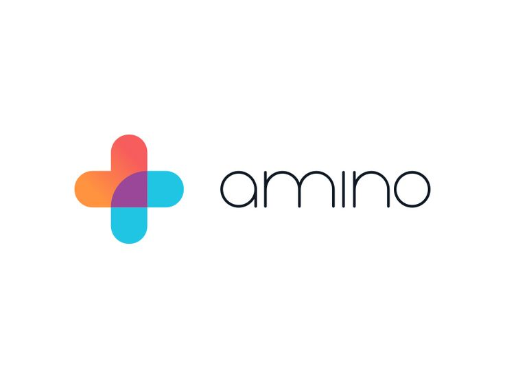 An unused logo option for Amino, a new healthcare startup by Eric R. Mortensen