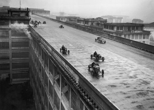 Mattè-Trucco, Giacomo  - Fiat Lingotto Factory, Turin, Italy 1916