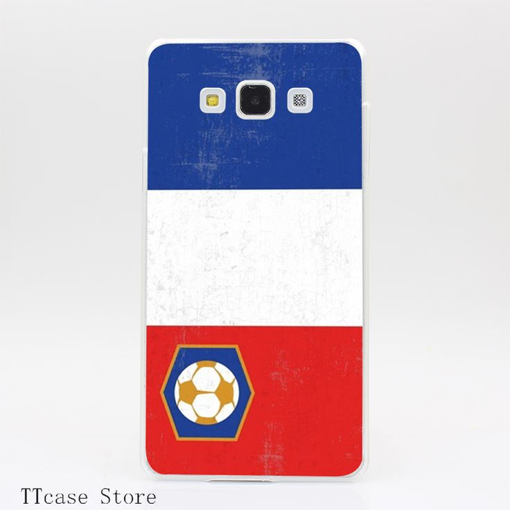 3184CA Soccer Flag, France Transparent Hard Cover Case for Galaxy A3 A5 A7 A8 Note 2 3 4 5 J5 J7 Grand 2 & Prime //Price: $US $1.61 & FREE Shipping //     #iphone