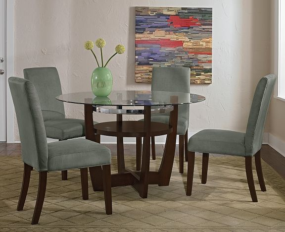 Alcove sage dining room collection value city furniture for Dining room tables value city