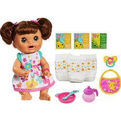 Boneca Baby Alive-Comer e Brincar.