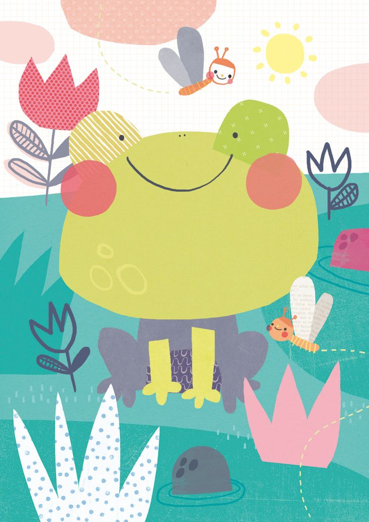 Super Frog de SigridMartinez en Etsy