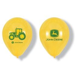 John Deere Latex Balloons (6 Pack) | $3.42 | http://www.discountpartysupplies.com/boy-party-supplies/john-deere-party-supplies/john-deere-latex-balloons.html