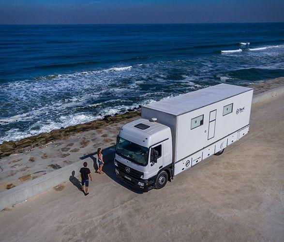 Truck Surf Hotel Surfing Luxury Rv Hotel