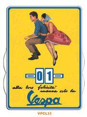 Vespa Perpetual Calendar | Paper Products Online