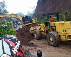 Akhirnya Jalur Tondano-Manado Via Suluan Sudah Bisa Dilalui