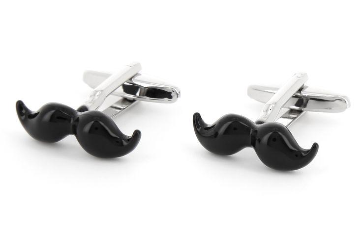 Concours : gagnez des moustaches en boutons de manchette !