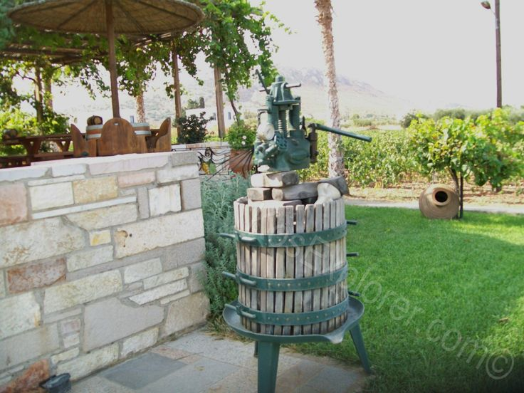 Hatzimmanouil Winery, Kos. Read more here: