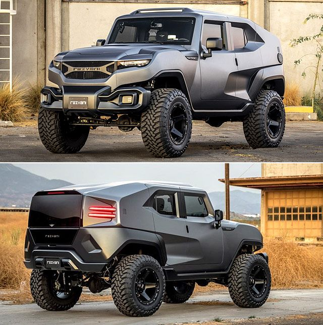 Rezvani Tank Is The Wild Armored Suv Ready For The Zombie Apocalypse Suv Cars Classic Chevy Trucks Suv