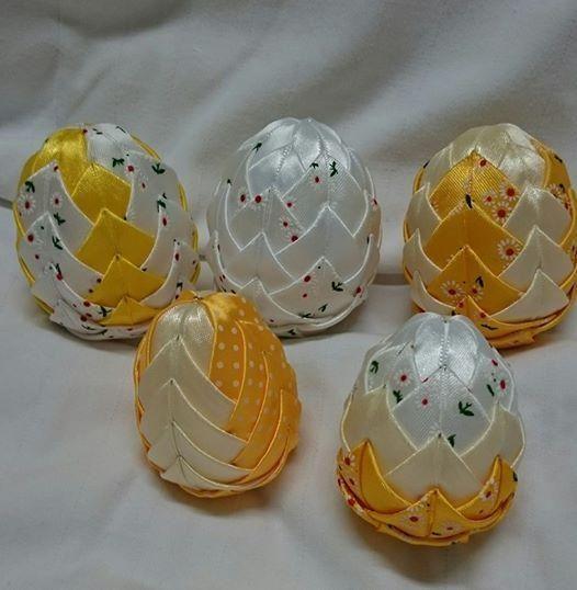 Veľkonočné vajíčka ako zo škatuľky. Autorka: anka1033. Falošný patchwork, veľká noc. Artmama.sk