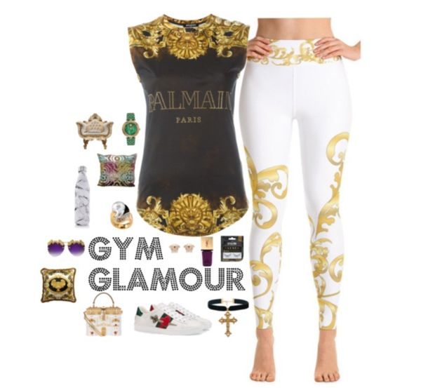 Versace Style Polyvore   Poetic Gangster
