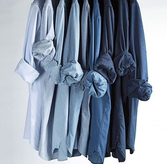 Looks like my closet and probably means that, at some deep, core level, I've always been a Ravenclaw.