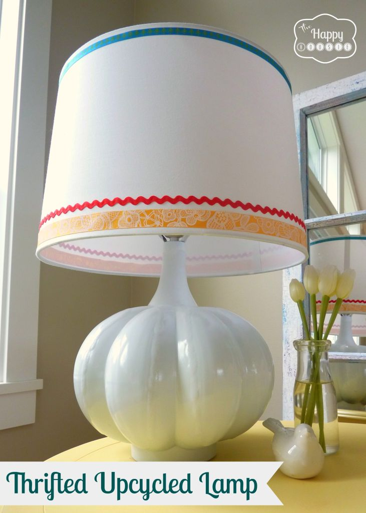 Light Up Your Life: Upcycle A Thrifted Lamp