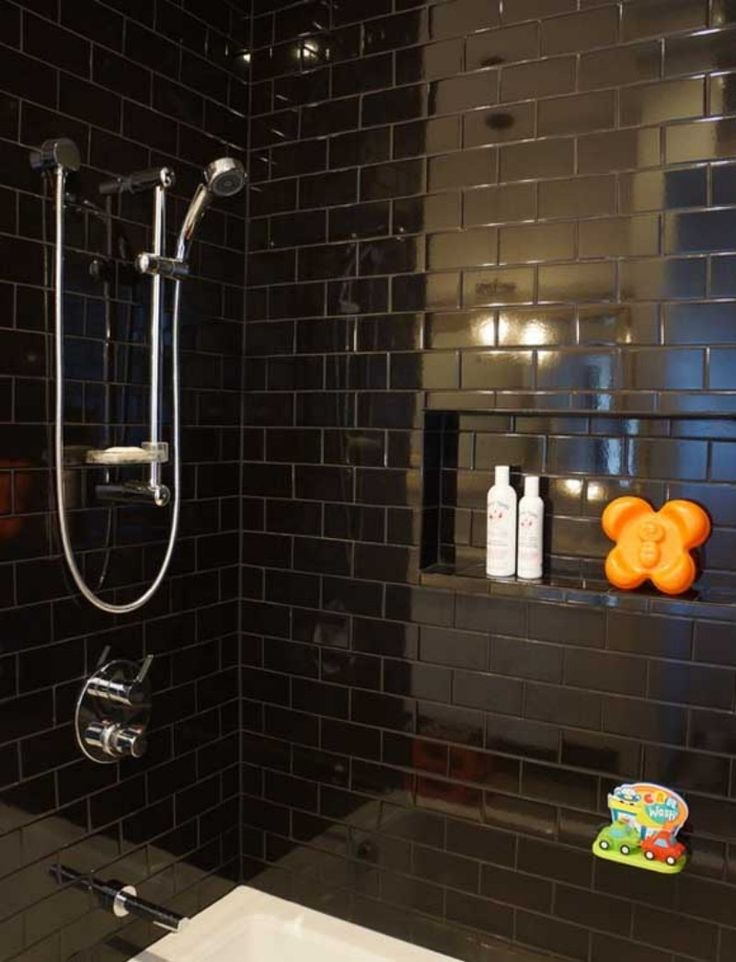 Black Bathroom Tile Ideas Photo Decorating Inspiration